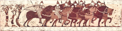Normans on horseback