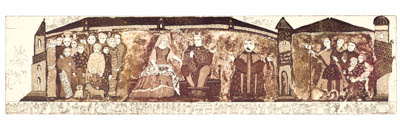 The crowning of William the Conqueror